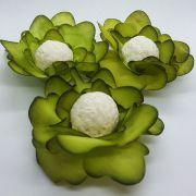 Forminhas para Doces - Verde Pistache - F138 Viscose - 25 un