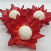 Forminhas para Doces - Vermelho - F139 Viscose - 25 un
