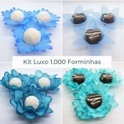 Kit Luxo 1.000 Forminhas