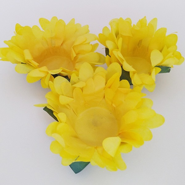 Forminhas para Doces - Amarelo Mostarda - F292 Papel - 30 un