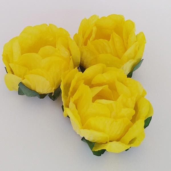 Forminhas para Doces - Amarelo Mostarda - F283 Papel - 30 un