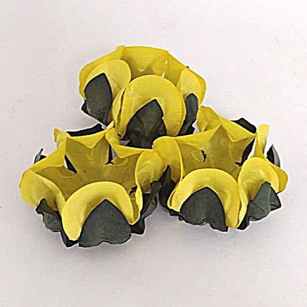 Forminhas para Doces - Amarelo Mostarda - F289 Papel - 30 un