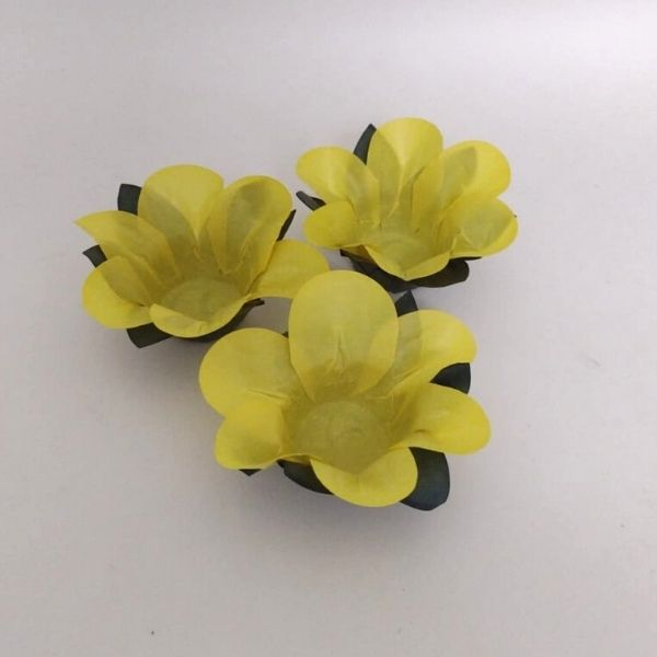 Forminhas para Doces - Amarelo Mostrada - F298 Papel - 40 un