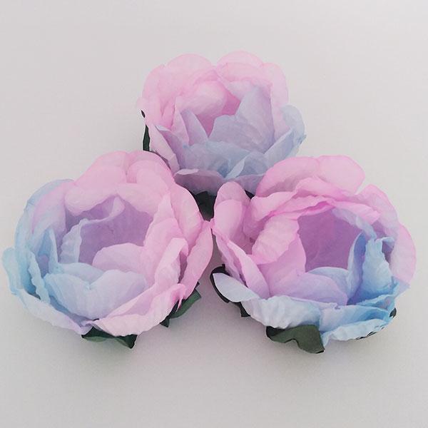 Forminhas para Doces - Azul Claro com Rosa - F283 Papel - 30 un