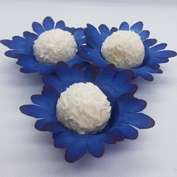 Forminhas para Doces - Azul - F122 Viscose - 50 un
