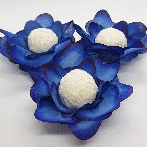 Forminhas para Doces - Azul - F138 Viscose - 25 un