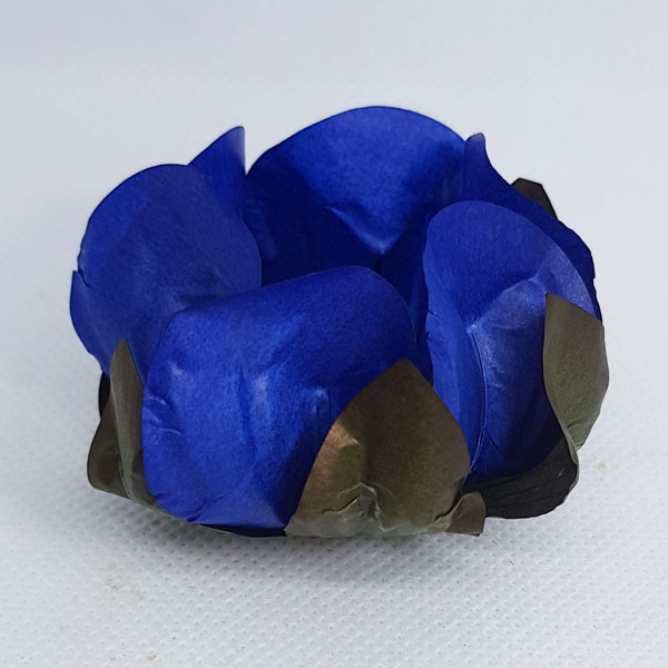 Forminhas para Doces - Azul - F289 Papel - 30 un