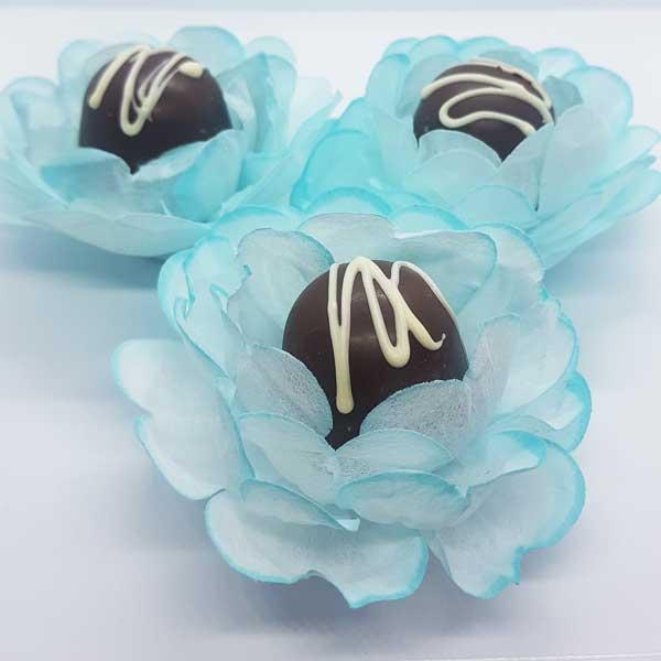 Forminhas para Doces - Azul Tiffany - F275 Viscose - 20 un