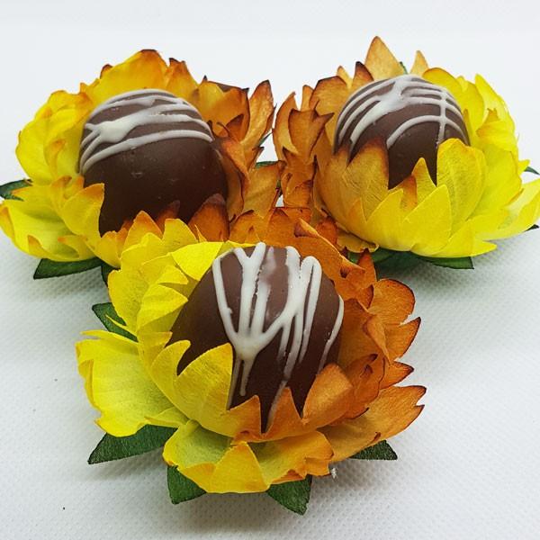 Forminhas para Doces - Caramelo com Mostarda - F278 Viscose - 25 un
