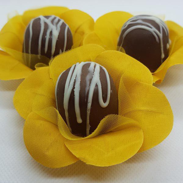 Forminhas para Doces - Caramelo Natural - F7 Tafetá - 25 un