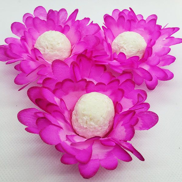 Forminhas para Doces - Pink - F136 Viscose  - 25 un