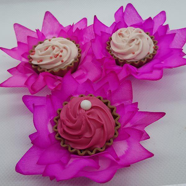 Forminhas para Doces - Pink - F139 Viscose - 25 un