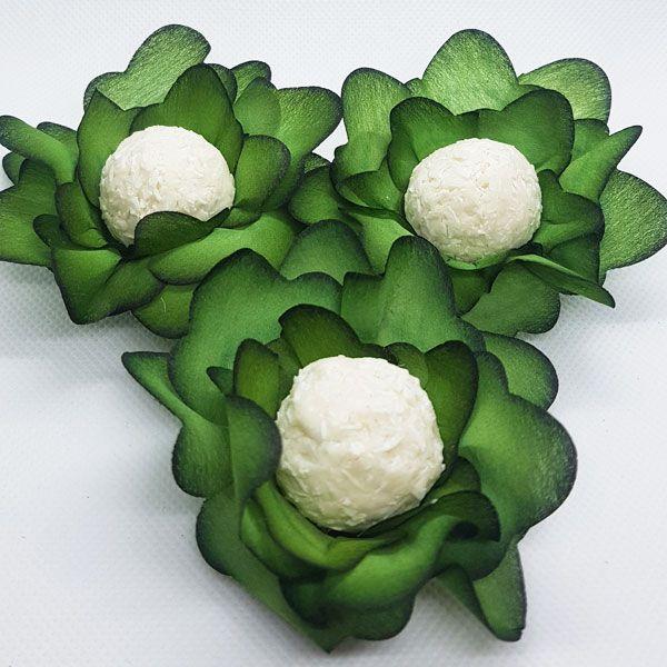 Forminhas para Doces - Verde Musgo - F138 Viscose - 25 un