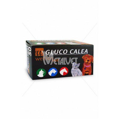 FITA REAGENTE PARA TESTE DE GLICOSE - CAIXA COM 50 UNIDADES - GLUCO CALEA
