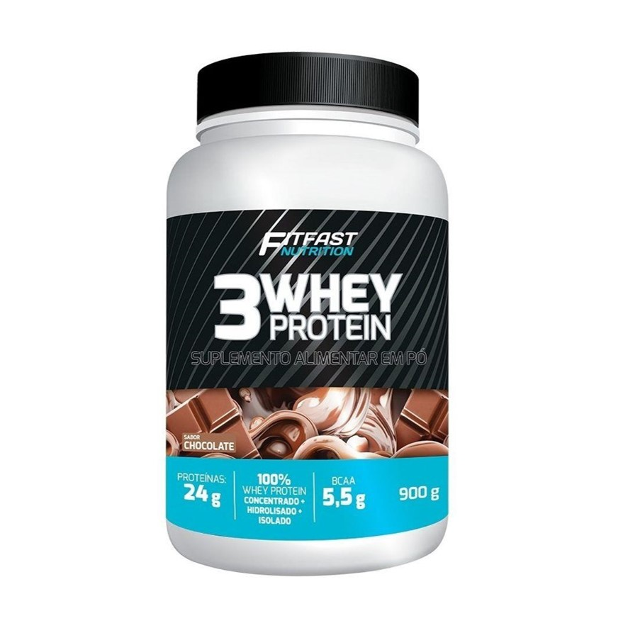 3 Whey Protein 900g Fit Fast