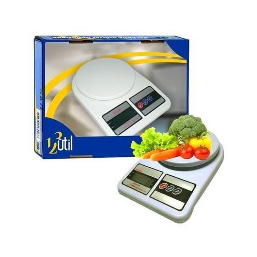 Balança de Cozinha Digital 10kg - 123 Útil
