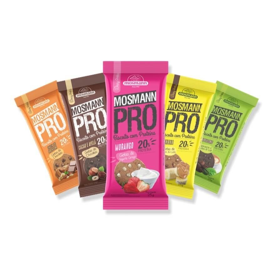 Biscoito de Proteína 25g - Mosmann