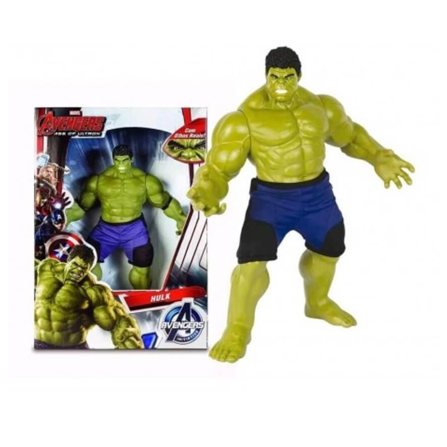 Boneco Hulk Verde Olho de Injeção - Mimo