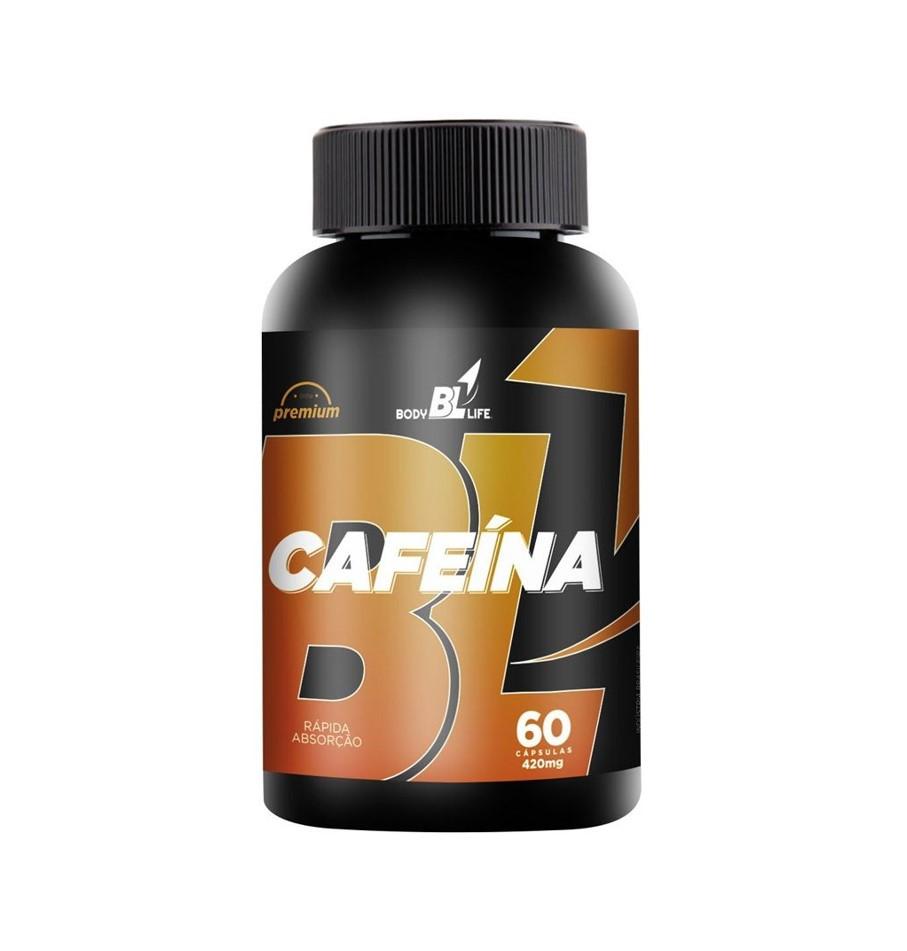 Cafeína 420mg 60 Cápsulas - BodyLife