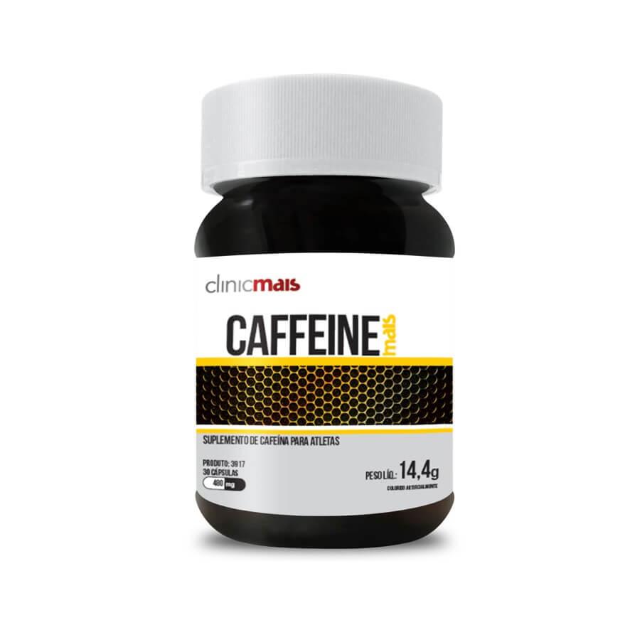 Cafeína Caffeine Mais 30 Cápsulas - Clinic Mais
