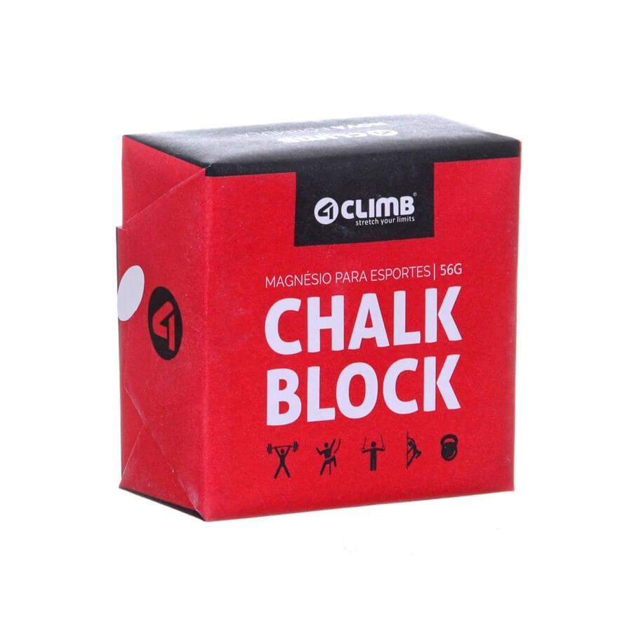Chalk Block 56g Magnésio para Esportes - 4Climb