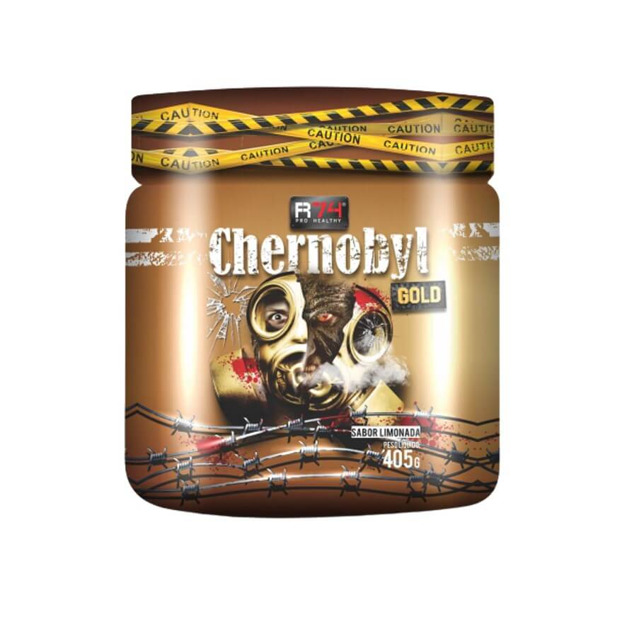 Chernobyl Gold Pré-Treino 405g - R74