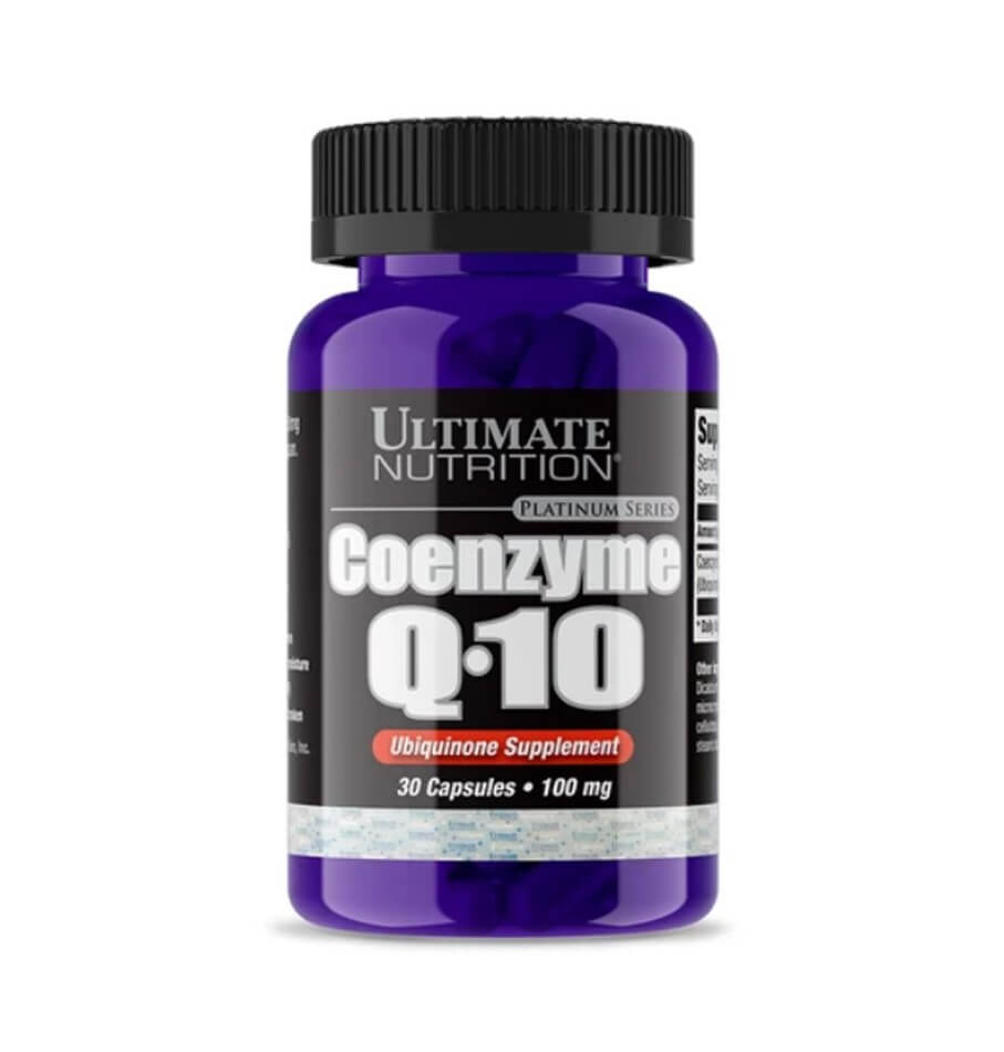 Coenzima Q10 30 Cápsulas - Ultimate Nutrition
