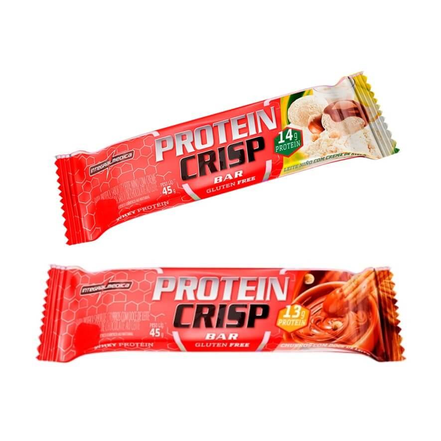 Crisp Bar 45g Integral Medica