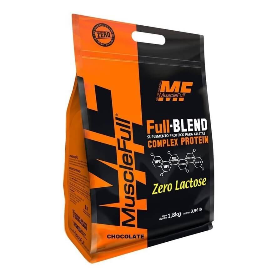 Full Blend Zero Lactose 1,8kg - MuscleFull