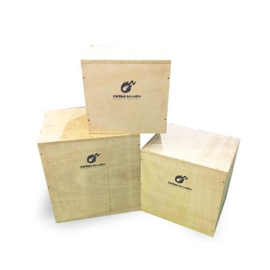 Kit Caixas de Salto - Energia do Corpo
