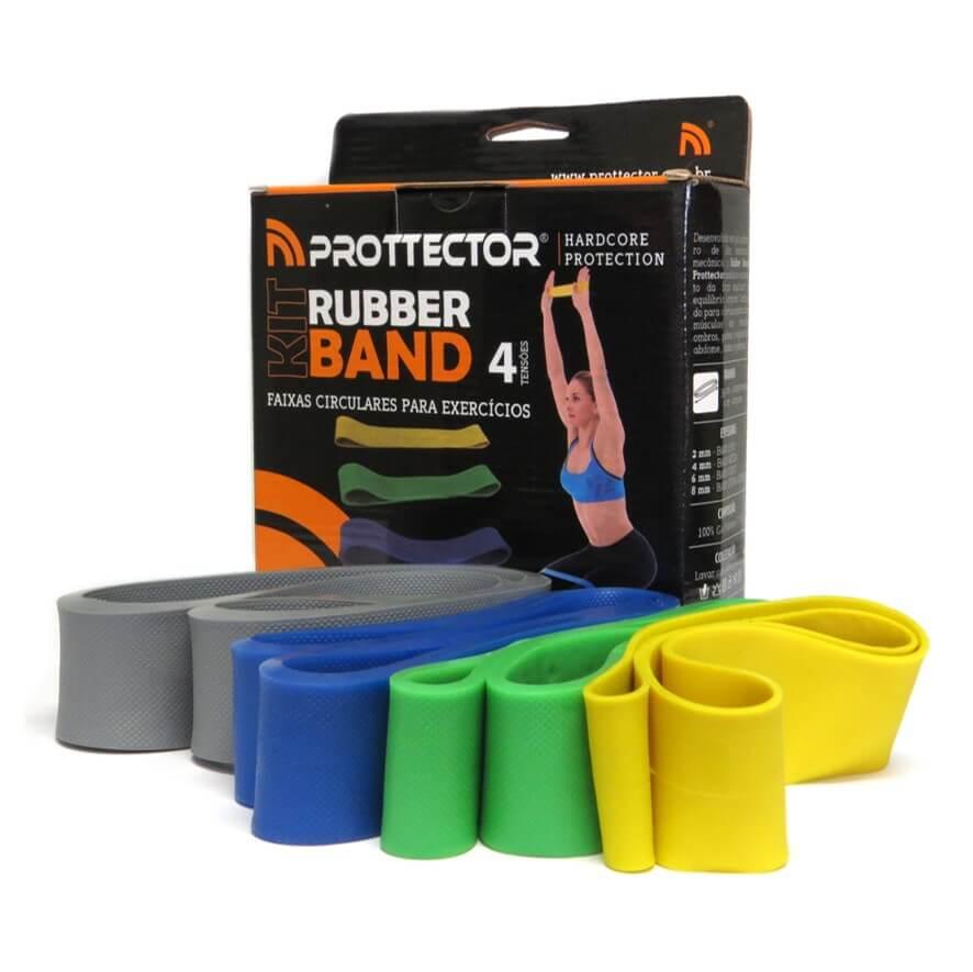 Kit Rubber Band 4 tensões - Prottector
