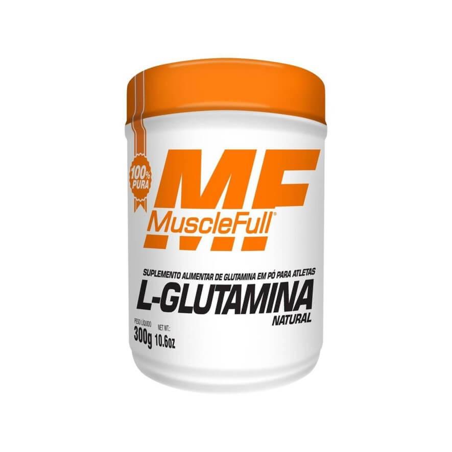 L-Glutamina 300g - MuscleFull