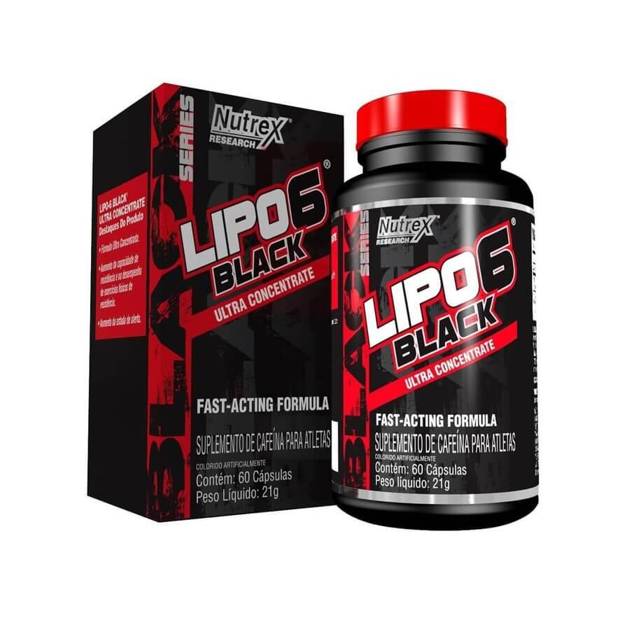 Lipo 6 Black Ultra Concentrado 60 Cápsulas - Nutrex