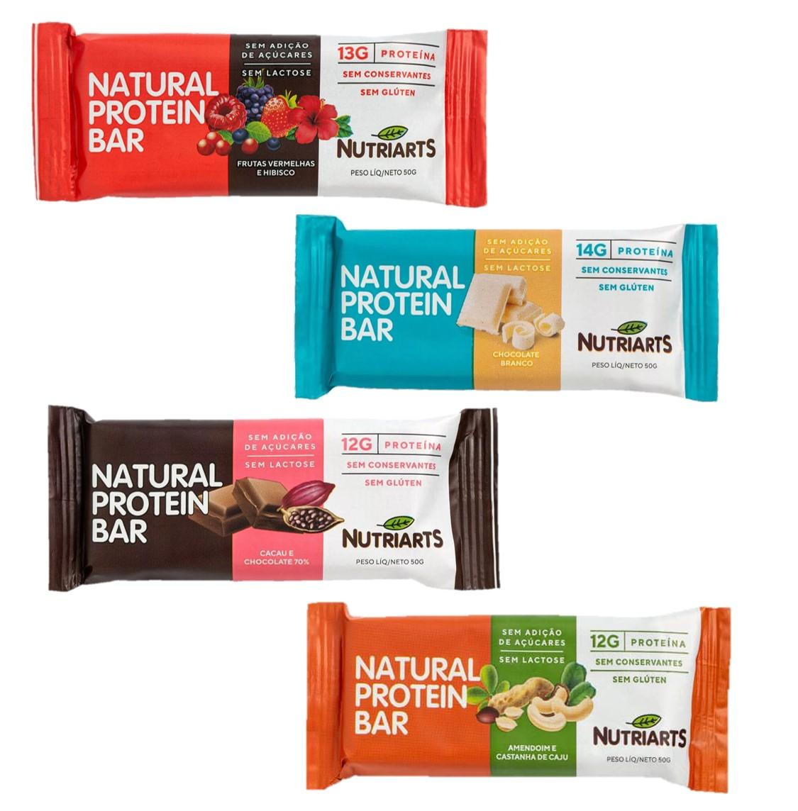Natural Protein Bar 50g Nutriarts