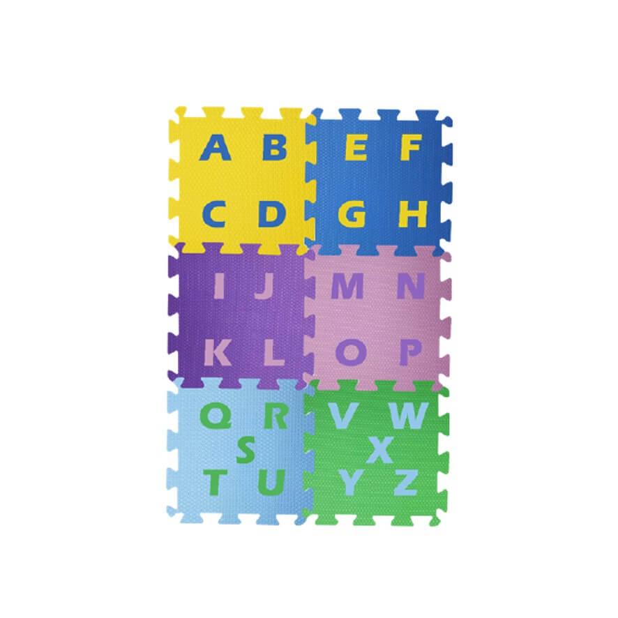 Tatame Alfabético Infantil 6 Folhas - Energia do Corpo
