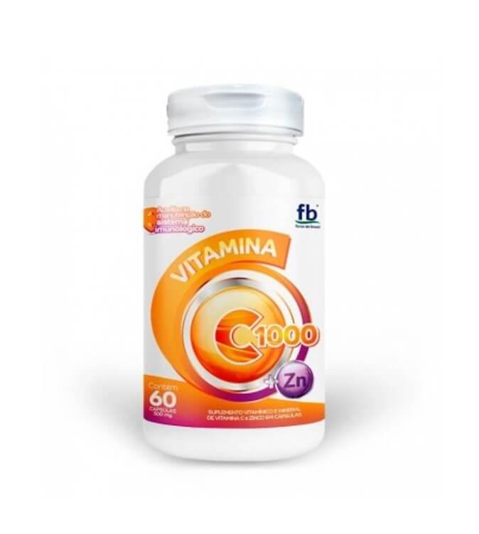 Vitamina C e Zinco 60 caps - Force do Brasil