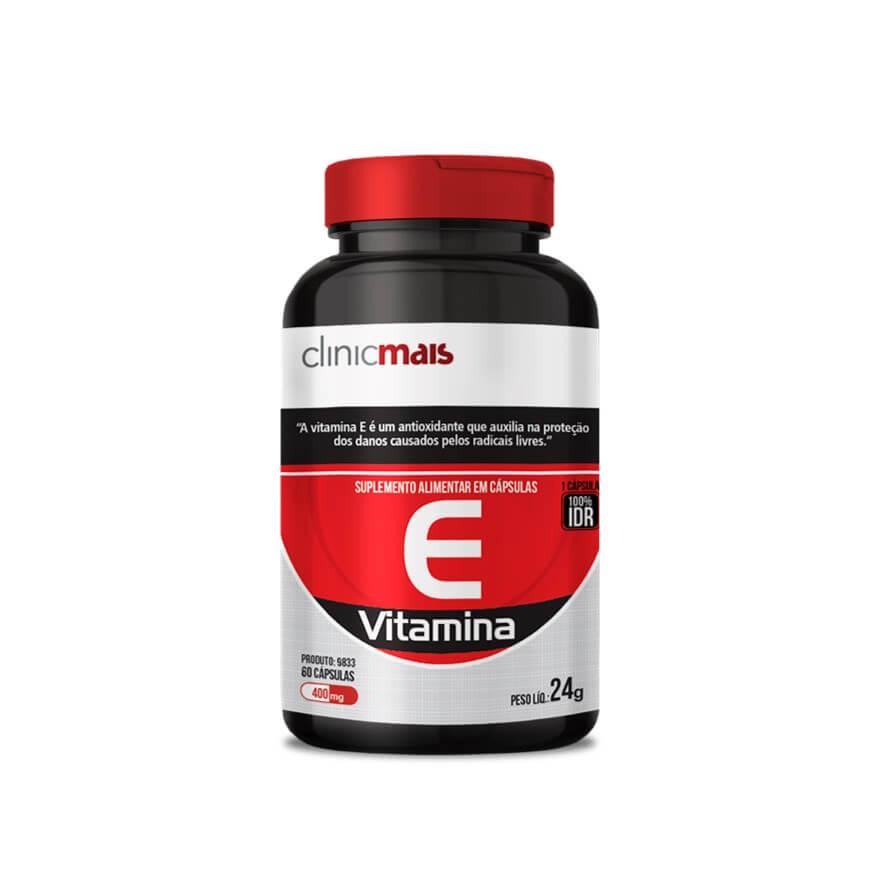 Vitamina E 60 Cápsulas - Clinic Mais