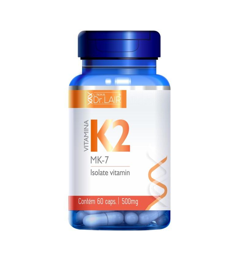 Vitamina K2 MK-7 60 Cápsulas Dr. New QI - Up Nutri