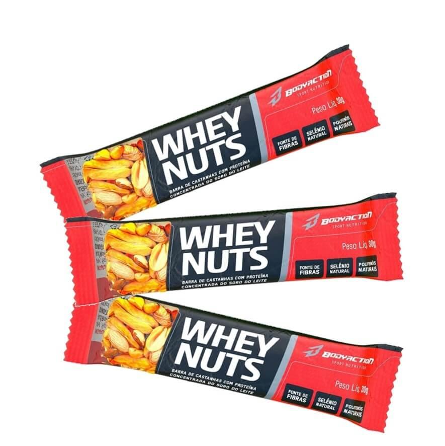 Whey Nuts 30g - BodyAction
