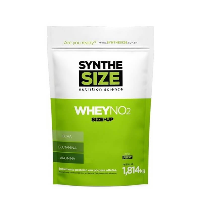 Whey Protein NO2 Size Up 1,8kg - Synthesize