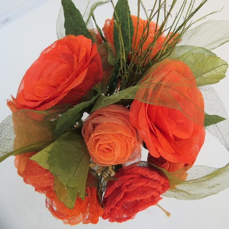 Buquê laranja