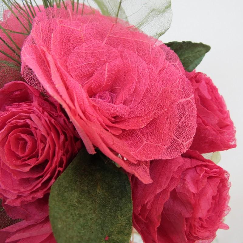 Buquê rosa pink