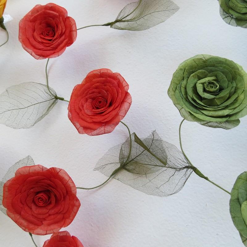 Fio flexível de 8 flores