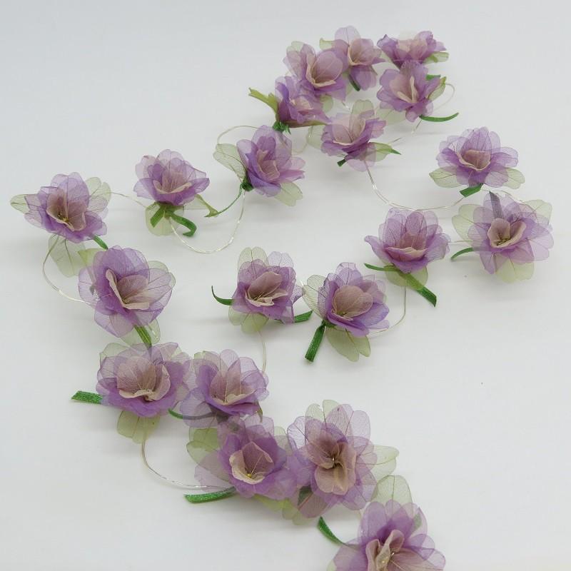 Fio sininho de amendoim lilás