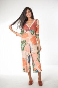 Kimono Estampado Mercatto Estampado