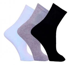 Kit 6 meias Masculinas Cano Longo