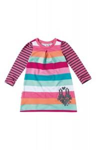 Vestido Moletom Infantil Malwee - Rosa - 1000063549