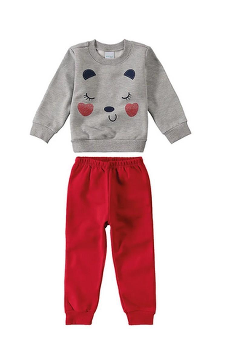 Conjunto Moletom Infantil Malwee não vender - Rosa - 1000064450