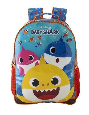 Mochila Baby Shark Xeryus 9592