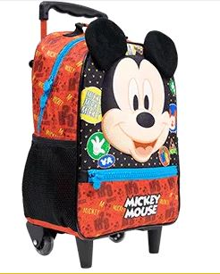 Mochila de Rodinha Mickey Mouse Xeryus 9320